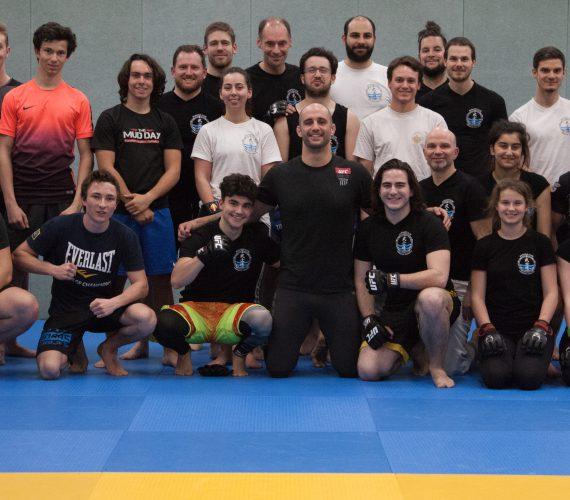 Stage de MMA avec Volkan Oezdemir