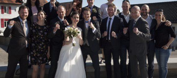 Sylvain se marie :-)
