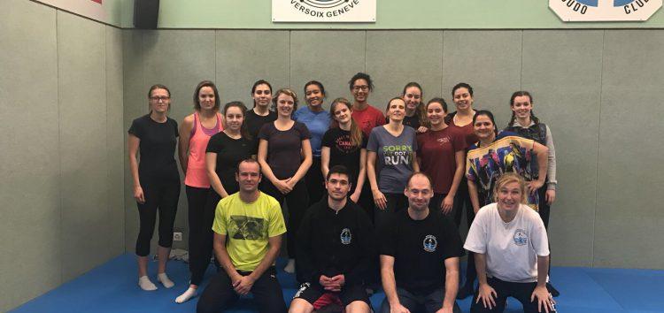 Cours autodéfense femmes – automne 2017