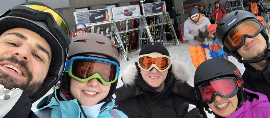 Sortie ski !