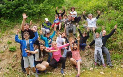 Camp dans le Jura